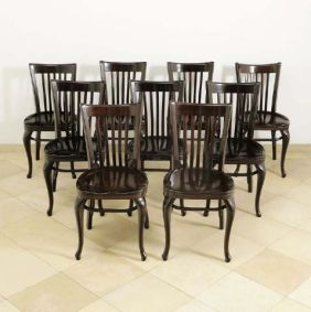 Coffeehouse Chairs (1913) from Adolf Loos, Austria