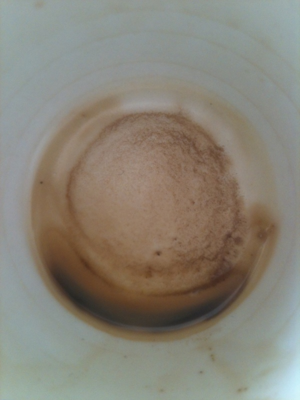 Undrinkable Coffee Rests - 24nov2012