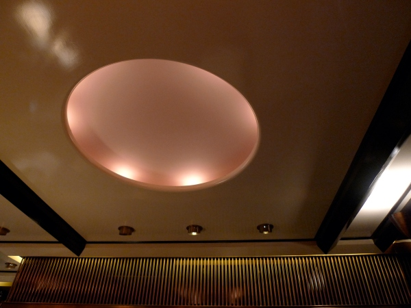 Ceiling detail at Kava Café, Chelsea, New York