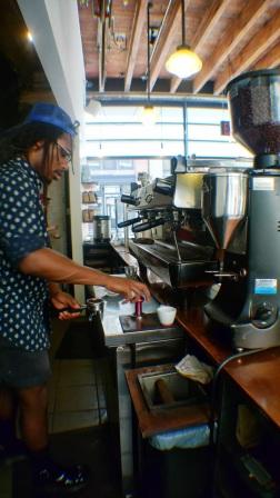 Gasoline Alley Coffee, Bowery, Manhattan, NY