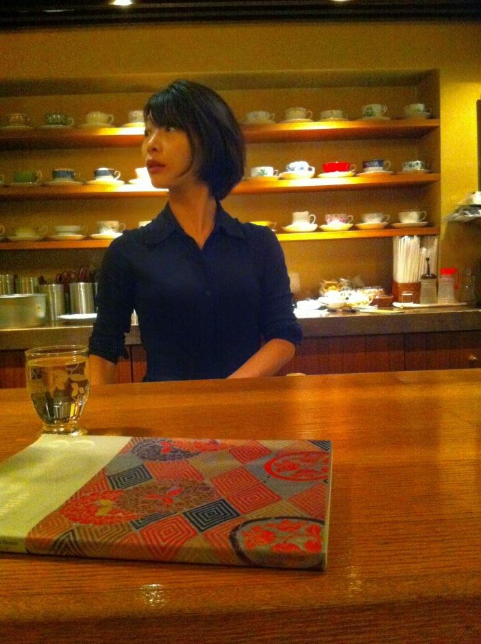 Cafe Rim, Ginza, Tokyo, Japan / iPhone 4