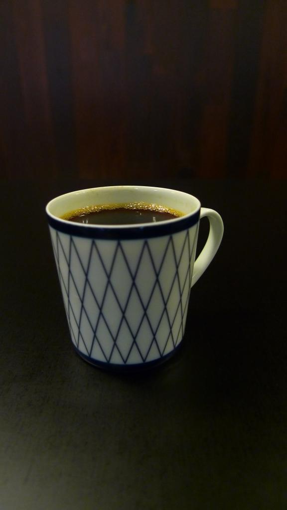 Demitasse from Café de L'ambre, Tokyo, Japón / Leica D-Lux 4