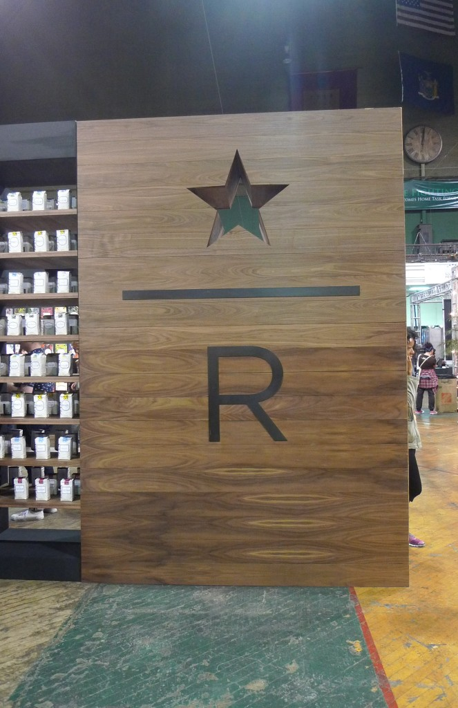 Starbucks Reserve stand / New York Coffee Festival, New York, NY / Leica D-Lux 4